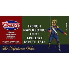 Napoleonic French Artillery 1812 to 1815