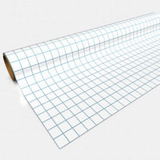 Gaming Paper White 1'' Square Roll