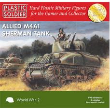 Allied M4A1 Sherman Tank 75mm