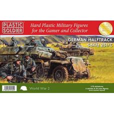 German  Easy Assembly Halftrack Sdkfz 251 c