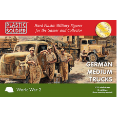 German medium trucks 1 / 72