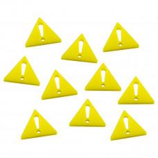 Alert Yellow Markers