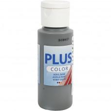 Plus Color Craft Paint, Dark Grey