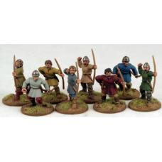 Carolingian Warriors With Bows