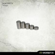 Neodymium Disc Magnets 7x2mm