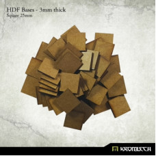25mm Square Bases HDF