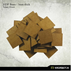 40mm Square Bases HDF