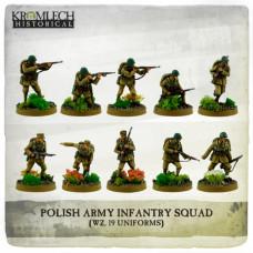 Polish Army Infantry Squad wz. 19 uniforms