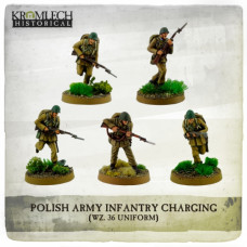 Polish Army Infantry wz. 36 uniforms charging with rifles (5)