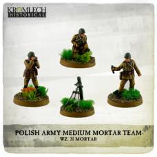 Polish Army wz.31 Mortar Team (mortar + 3)