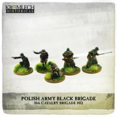 Polish Army Black Brigade HQ