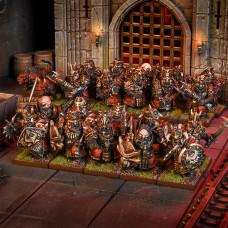 Kings of War Abyssal Dwarf Blacksouls Regiment