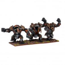 Abyssal Dwarf Lesser Obsidian Golem Regiment