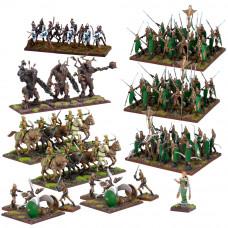 Kings of War Elves Mega Army