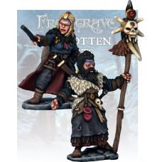 Barbarian Wizard and Apprentice