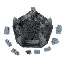 Necromancer Large Summoning Pentagram (90mm)