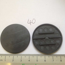 40mm plastic Round Base